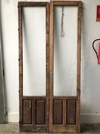 Puerta antigua madera de segunda mano por 60  en Mairena