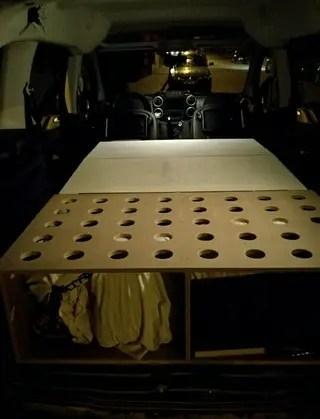 Mueble cama berlingo de segunda mano por 230  en Berga en