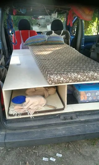 Mueble cama furgo de segunda mano por 150  en Madrid en