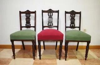 Antiguas sillas Victorianas de segunda mano por 345  en