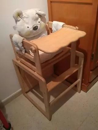 Trona de madera prenatal de segunda mano por 45  en