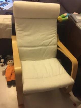 Mecedora Ikea de segunda mano en WALLAPOP