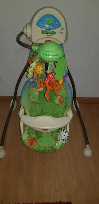 Columpio Fisher Price de segunda mano en Madrid en WALLAPOP