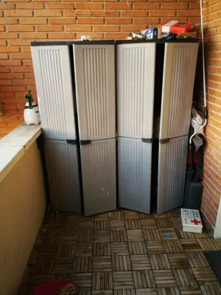 Armarios pvc exterior interior de segunda mano por 20  en Madrid en WALLAPOP
