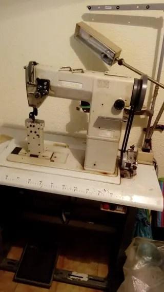 Mquina de coser zapatos de segunda mano en WALLAPOP