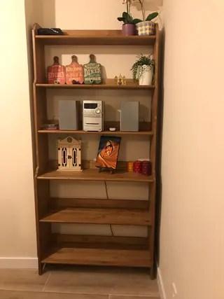Estanterias de madera para libros de segunda mano en