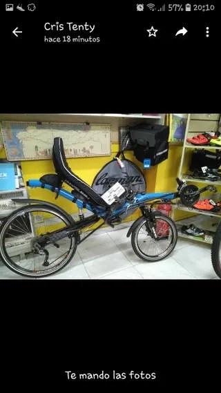 Bicicleta reclinada de segunda mano en WALLAPOP