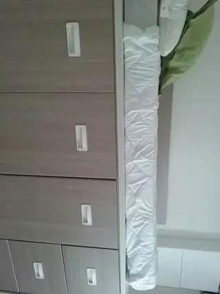 Mueble cama de segunda mano por 300  en Madrid en WALLAPOP