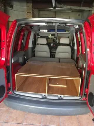 Mueble cama VW Caddy de segunda mano por 100  en Torell