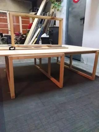 Mueble cama madera para furgoneta vw t4 de segunda mano por 100  en Barcelona en WALLAPOP