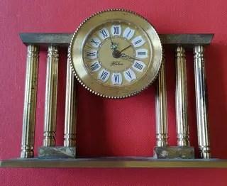 Reloj antiguo de mesa de segunda mano en WALLAPOP