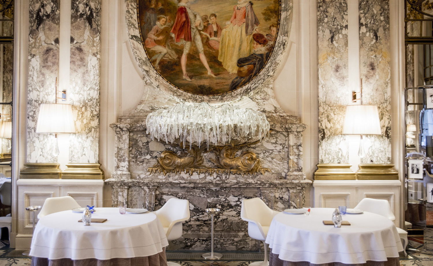 dining room chairs otter bath chair hôtel le meurice hotel review - paris, france   wallpaper*