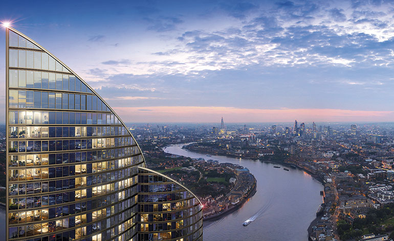 Spire London tallest residential building in West Europe  Wallpaper