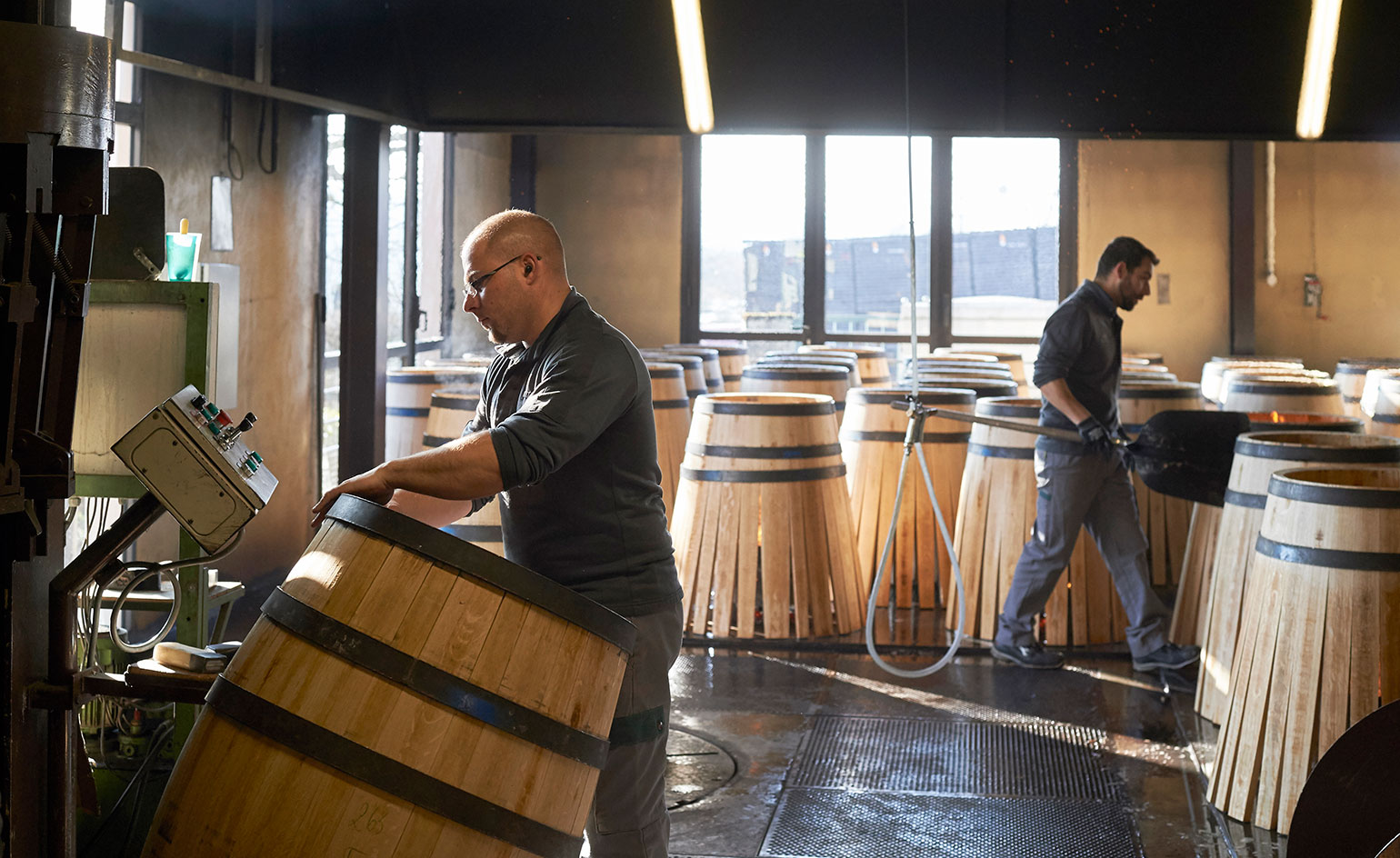 From grain to grape the Margaritelli family journey from Italian flooring to an organic winery