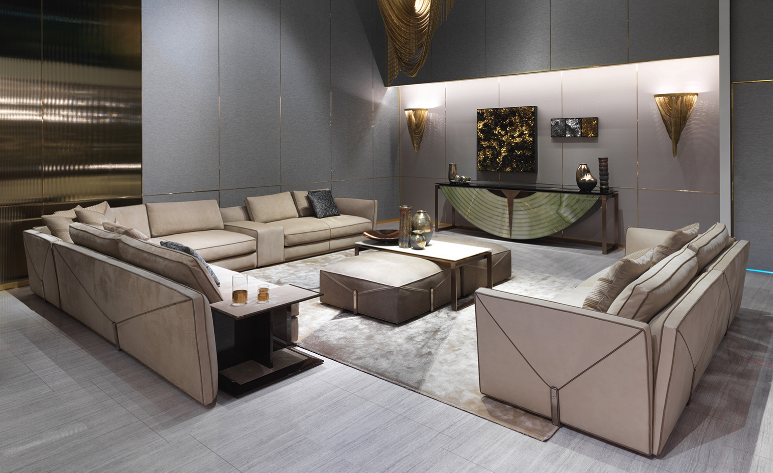 sofas with beds names of italian leather sofa manufacturers grass roots: visionnaire's latest collection is green at ...