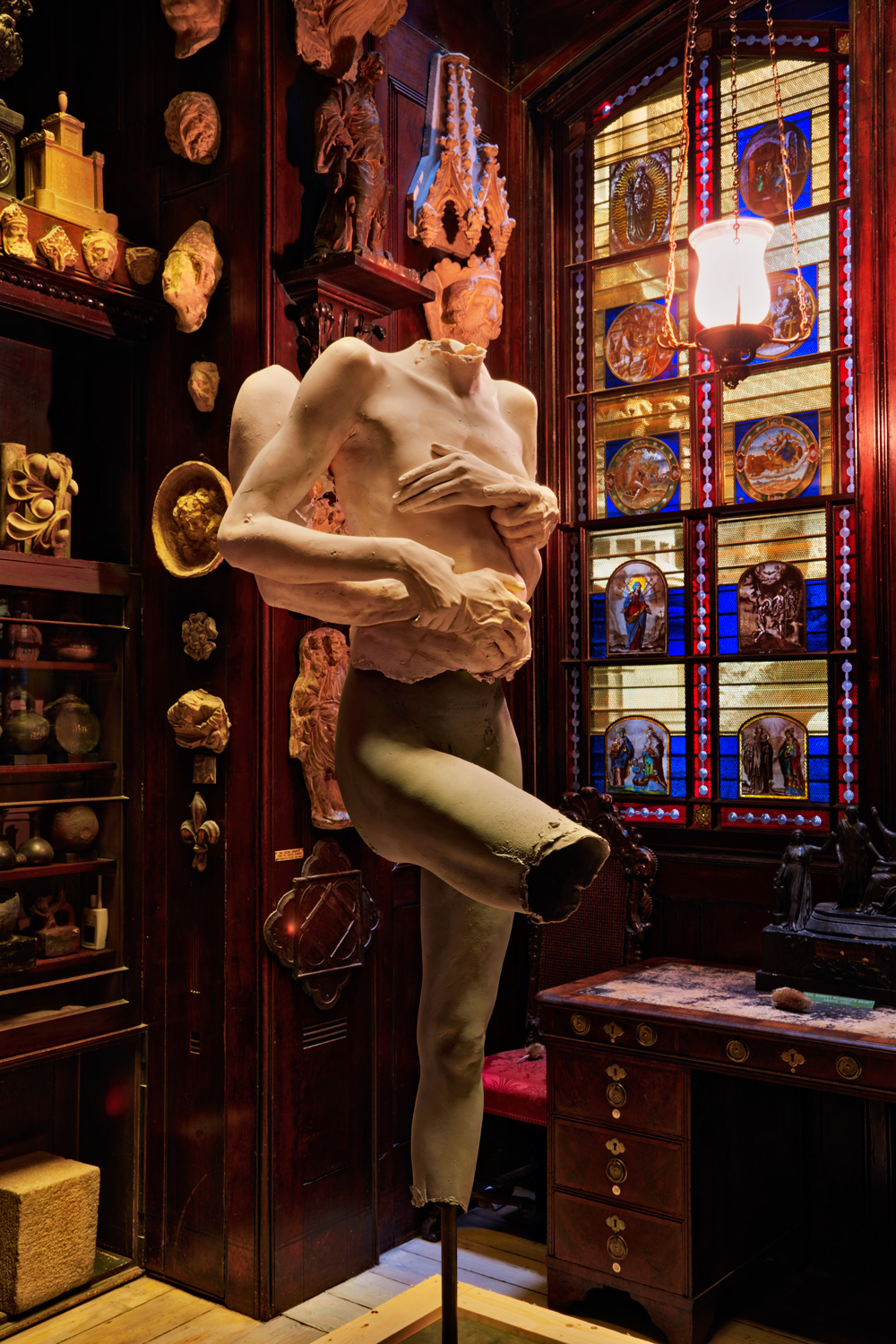 Marc Quinns muse bares all at the Sir John Soane Museum  Wallpaper