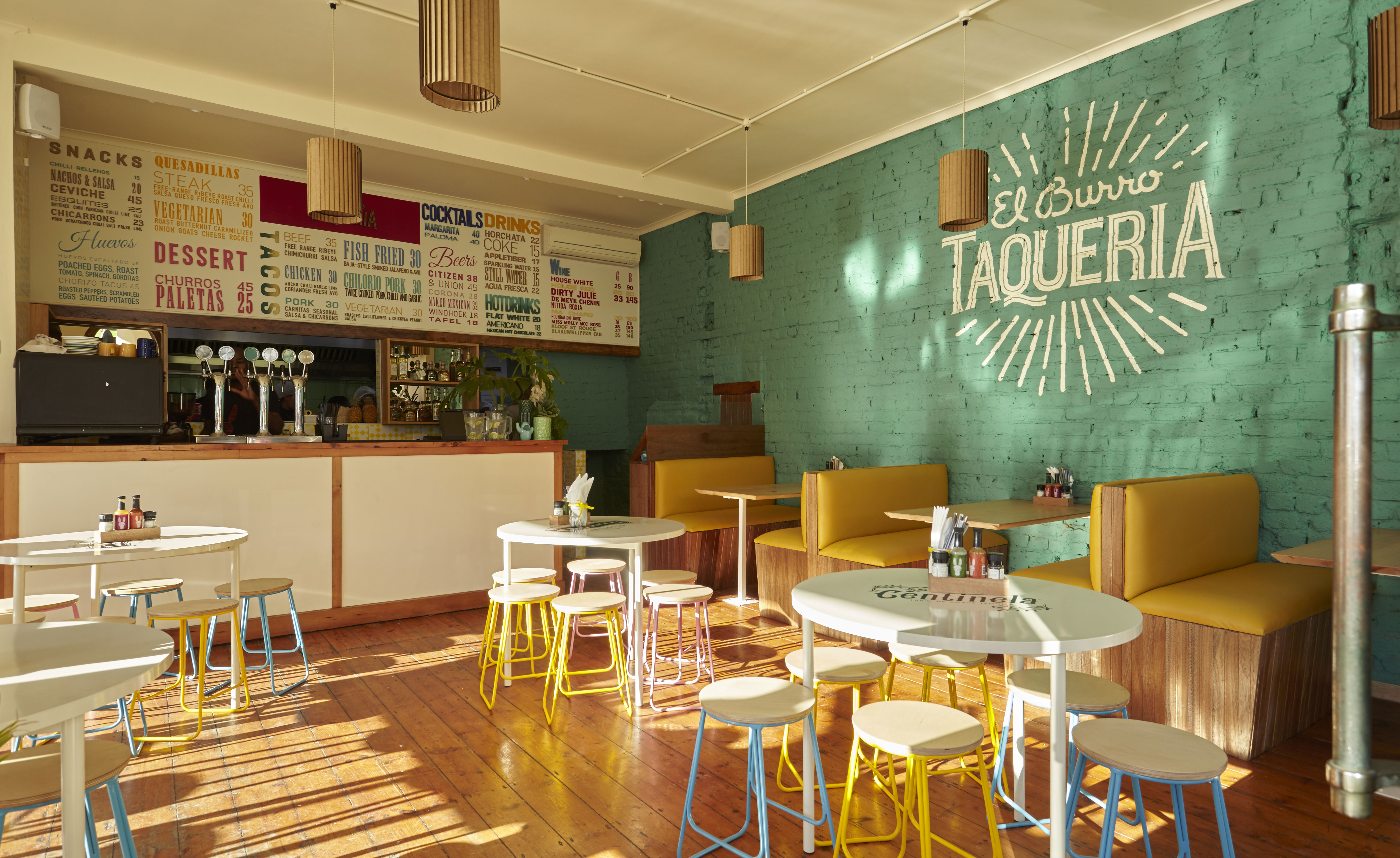 Muebles Para Una Cafeteria El Burro Taqueria Restaurant Review Cape Town South