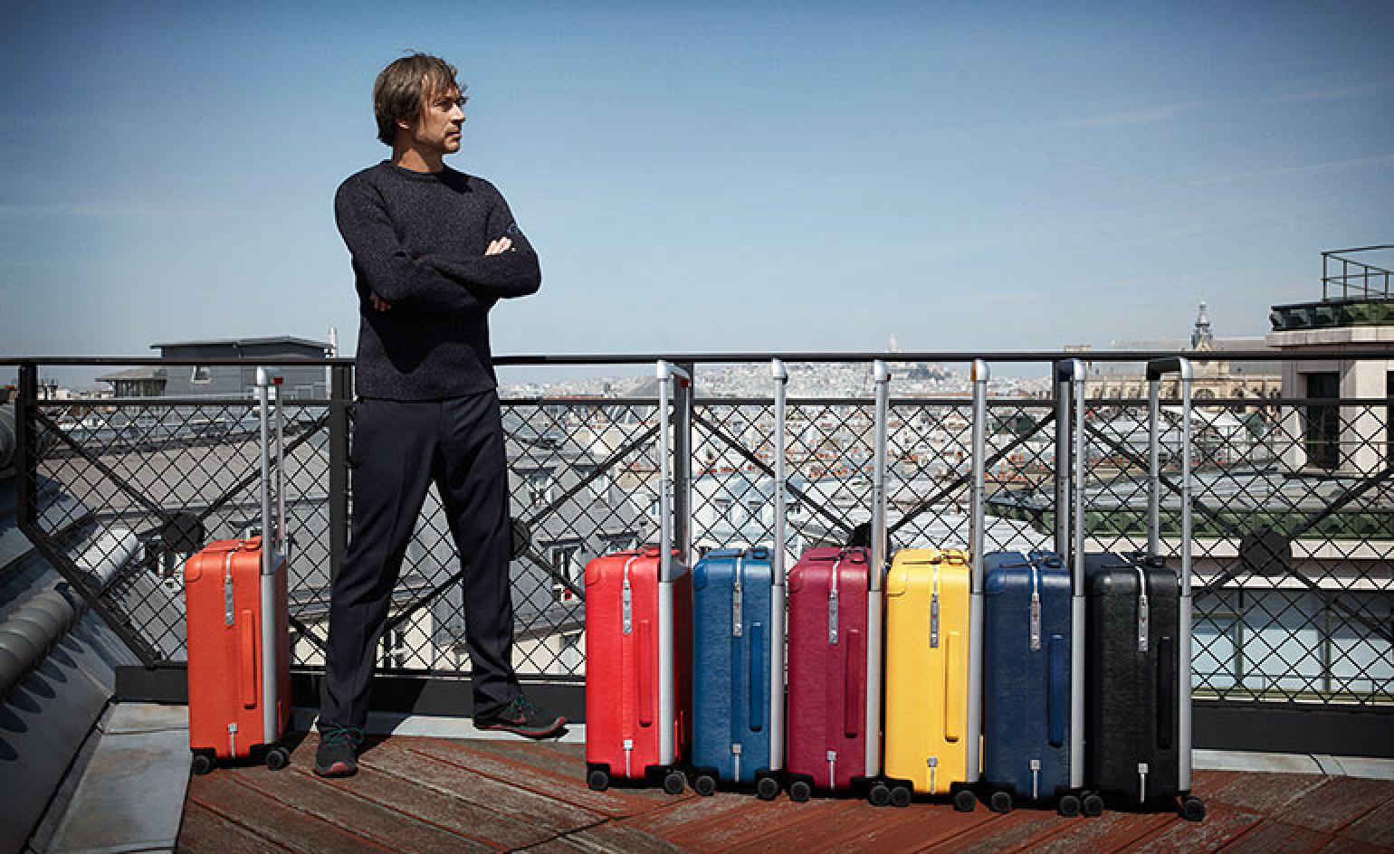 Marc Newson designs the ultimate suitcase for Louis