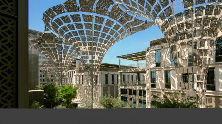 hopkins' thematic district at 2020 Dubai expo