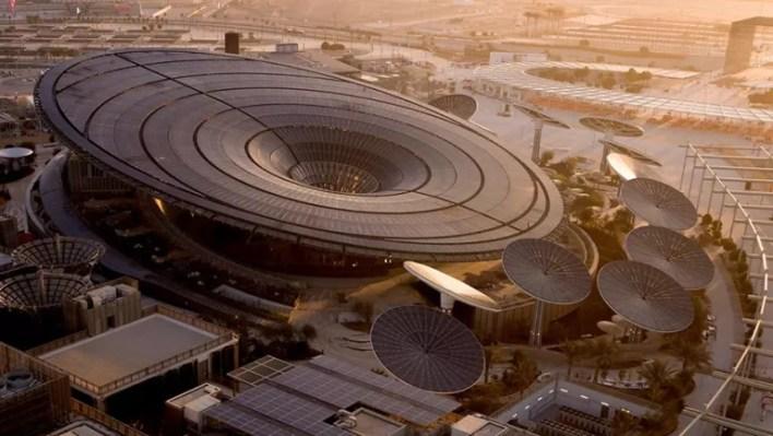 terra pavilion at the Expo 2020 Dubai