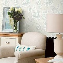 Wallpaper For Living Room Ideas Tv Wall Wallpapers Direct Albany Eva Cornish Cloud