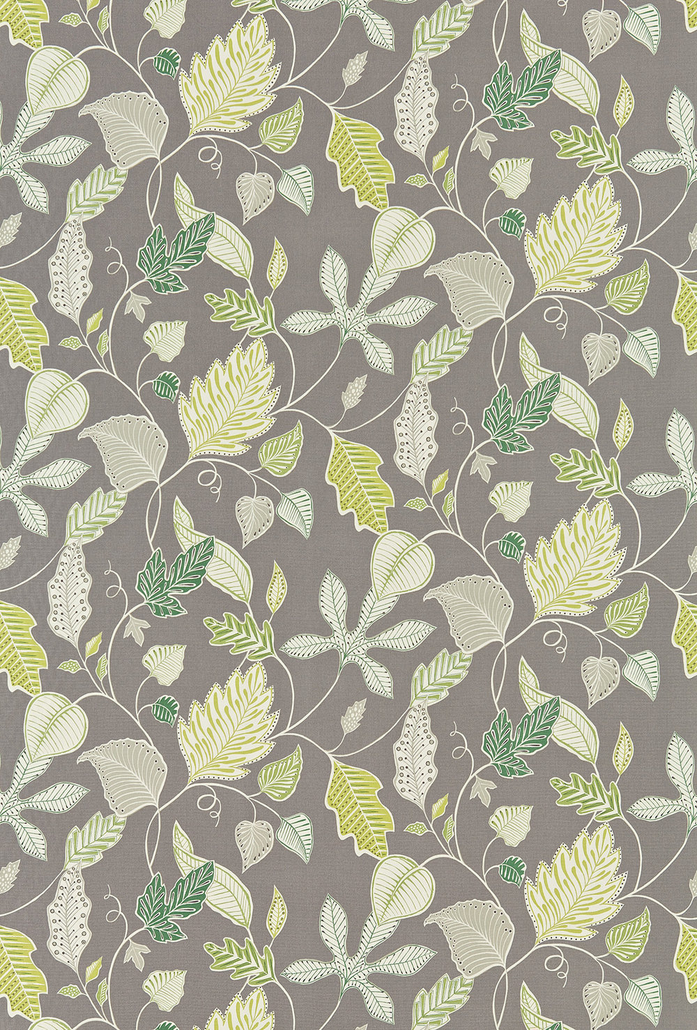 Flavia By Harlequin Green Grey Fabric Wallpaper Direct
