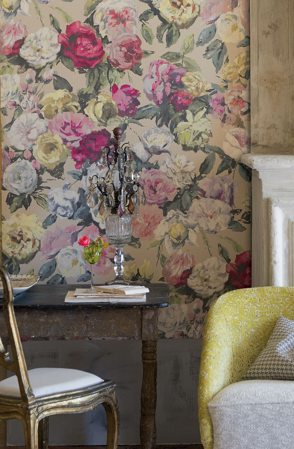 Octavia by Designers Guild  Multi  Wallpaper Direct