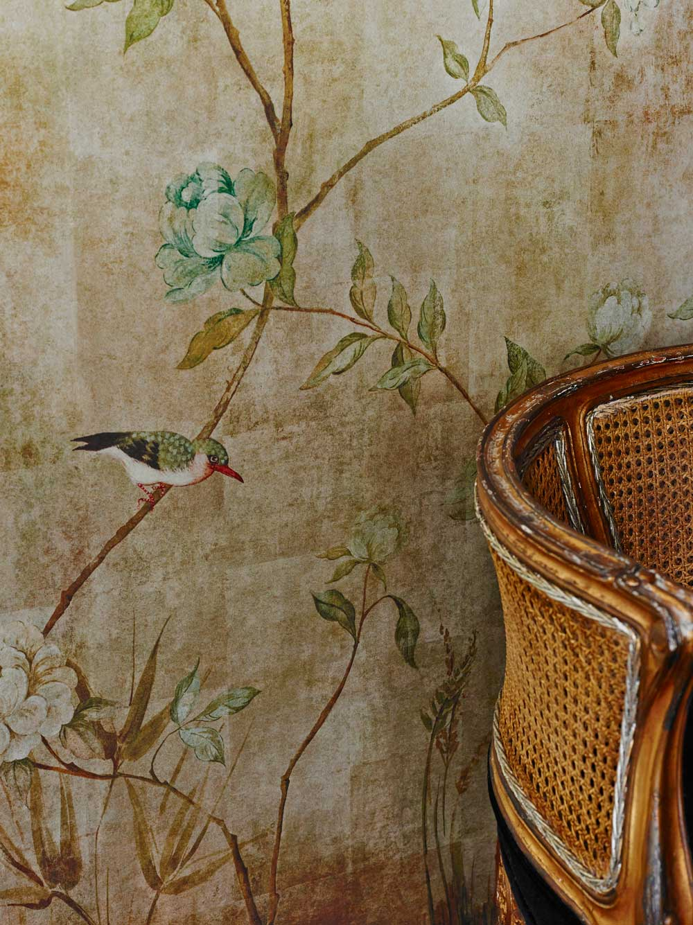 Chinoiserie by Sidney Paul  Co  Gold  Wallpaper Direct