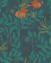 Nautilus by Cole & Son - Dark Green : Wallpaper Direct