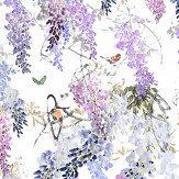 Wisteria Falls Wallpaper Sanderson Waterperry Wallpaper Collection Wallpaper Direct