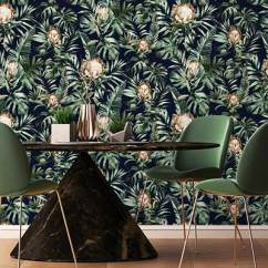 Funky Living Room Wallpaper Plastic Chairs India Design Ideas Get The Look Direct Albany Nia Navy