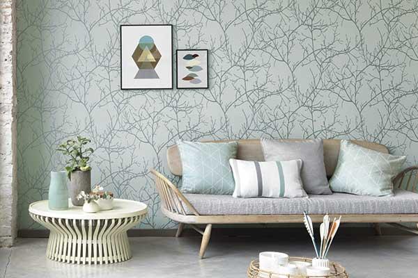 wall paper for living room modern farmhouse decor design ideas get the look wallpaper direct casadeco arbre ohio grey