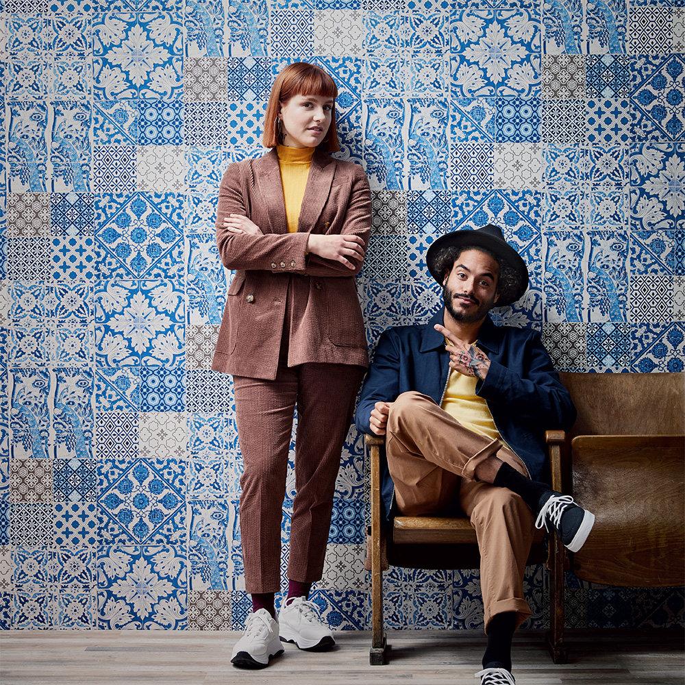 dutch tile by metropolitan stories blue wallpaper 36923 1