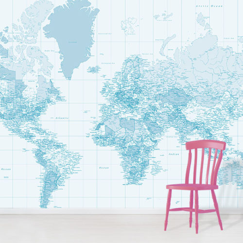 world map wallpaper wallpapered