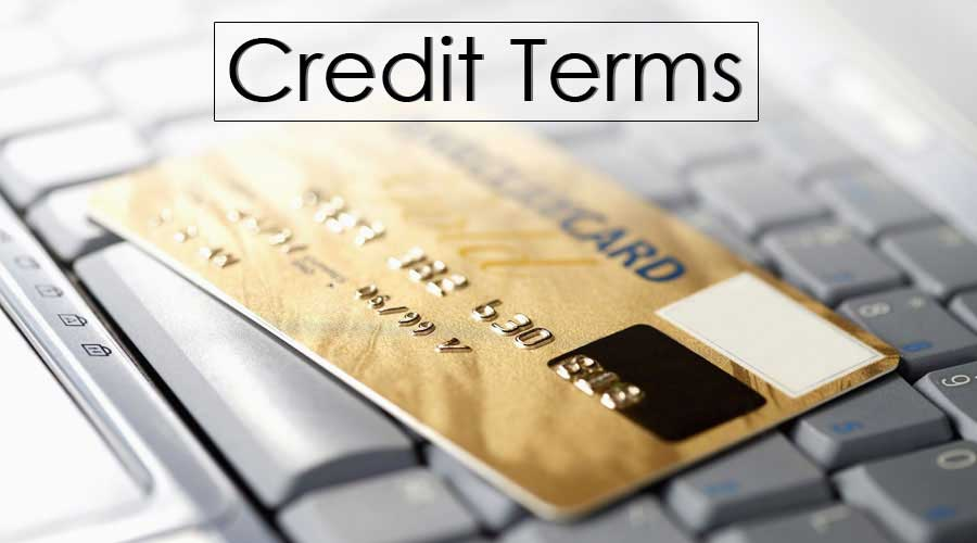 Credit Terms Meaning Example Credit Terms Vis A Vis