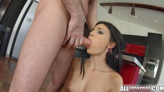 All Internal Czech cutie gets her pussy fucked ful thumb
