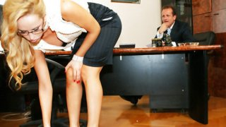 Aleska Diamond sucks_and fucks her boss thumb