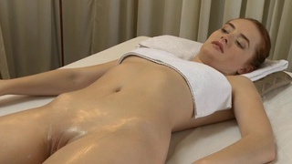 Redhead_cutie_riding_huge_hard_cock_in_massage_parlor thumb