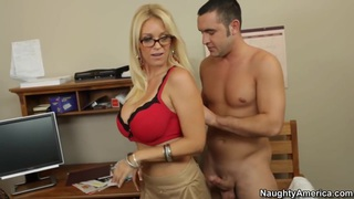 Oral sex lesson with my hot blonde teacher thumb