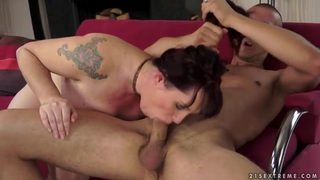 Appetizing curve Melany has superb sex with her step son thumb