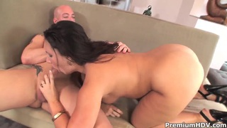 Hot ass milf Cami Smalls pleasures young hot stud thumb