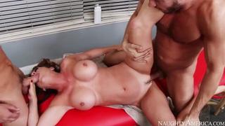 Danny Mountain, Raquel Devine & Van Wylde fuck thumb