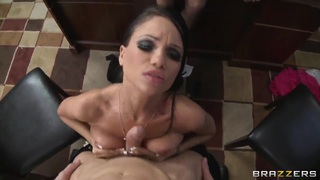 Audrey Bitoni,Johnny Sins and Raven Bay have fun thumb