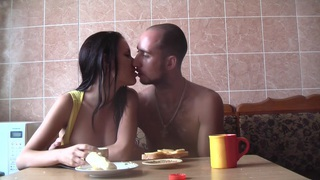 Aurita in one of the hottest couples having sex passionately thumb