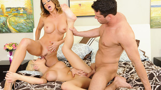 Bibi Noel & Raquel DeVine & Preston Parker in My Friends Hot Mom thumb