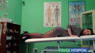 FakeHospital G spot massage gets hot brunette_wet thumb