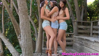 little barelylegal lesbo trio get it on thumb
