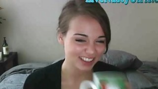 Shy Teen Teases And Rubs Pussy On Cam 1 thumb