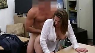 Foxy business lady fucked to earn money thumb