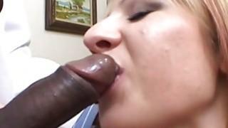 Interracial blowjob thumb